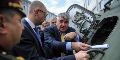 Яценюк планирует создать Государственное агентство по вопросам оборонно-промышленного комплекса
