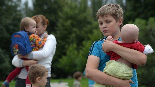 Христиане в Европе принимают детей-беженцев из Украины